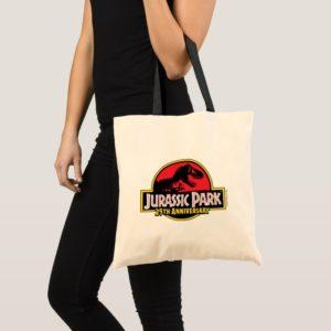 Jurassic Park 25th Anniversary Logo Tote Bag