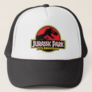 Jurassic Park 25th Anniversary Logo Trucker Hat