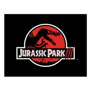 Jurassic Park III Logo Postcard