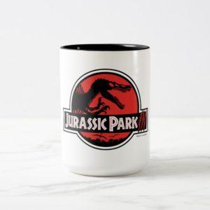 Jurassic Park III Logo Two-Tone Coffee Mug