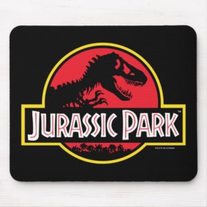 Jurassic Park Logo Mouse Pad