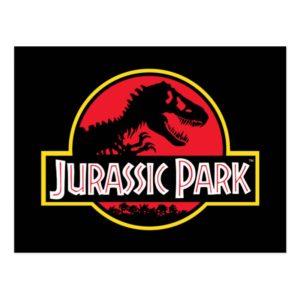 Jurassic Park Logo Postcard