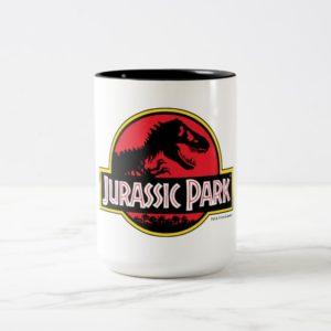 Jurassic Park Logo Two-Tone Coffee Mug