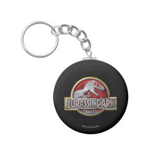 Jurassic Park | Metal Logo Keychain