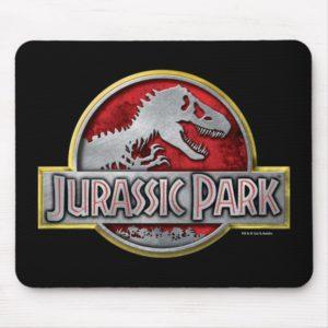 Jurassic Park   Metal Logo Mouse Pad