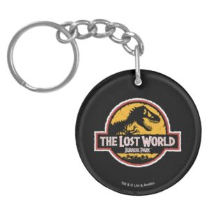 Jurassic Park The Lost World Logo Keychain