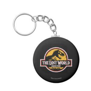 Jurassic Park The Lost World Logo Keychain