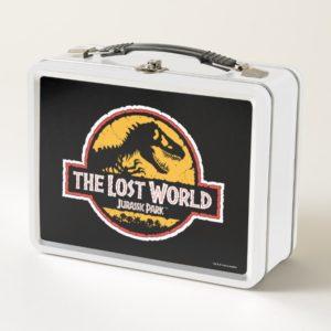 Jurassic Park The Lost World Logo Metal Lunch Box