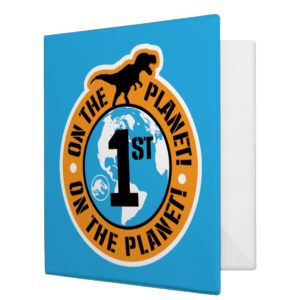 Jurassic World | 1st on the Planet 3 Ring Binder