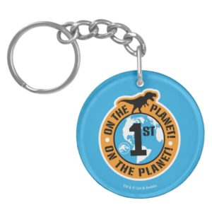 Jurassic World | 1st on the Planet Keychain