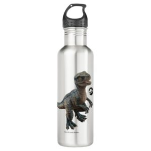 Jurassic World | Baby Blue Stainless Steel Water Bottle