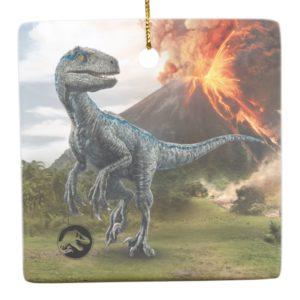 Jurassic World | Blue Ceramic Ornament