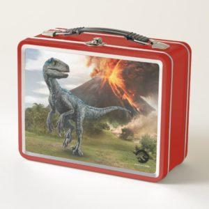 Jurassic World | Blue Metal Lunch Box