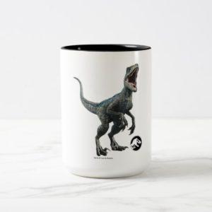 Jurassic World | Blue - Nature Unleashed Two-Tone Coffee Mug