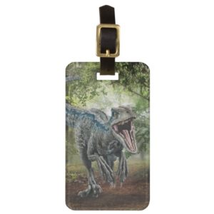 Jurassic World | Blue - Nature's Got Teeth Bag Tag