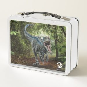 Jurassic World | Blue - Nature's Got Teeth Metal Lunch Box