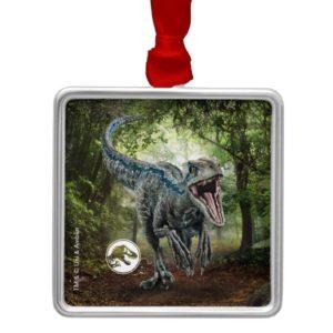 Jurassic World | Blue - Nature's Got Teeth Metal Ornament
