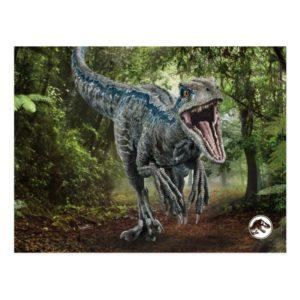 Jurassic World | Blue - Nature's Got Teeth Postcard