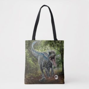Jurassic World | Blue - Nature's Got Teeth Tote Bag