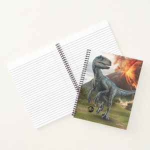 Jurassic World | Blue Notebook