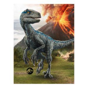 Jurassic World | Blue Postcard