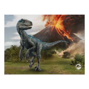 Jurassic World   Blue Poster