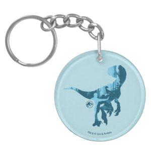 Jurassic World | Blue T-Rex Keychain