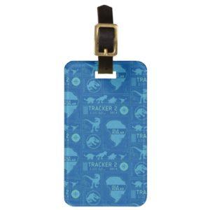 Jurassic World | Blue Tracker Pattern Bag Tag