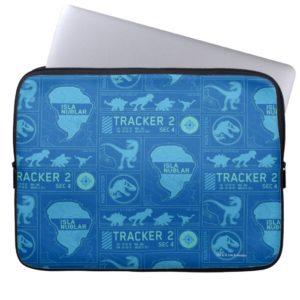 Jurassic World | Blue Tracker Pattern Computer Sleeve
