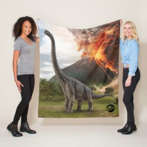 Jurassic World | Brachiosaurus Fleece Blanket