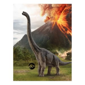 Jurassic World | Brachiosaurus Postcard