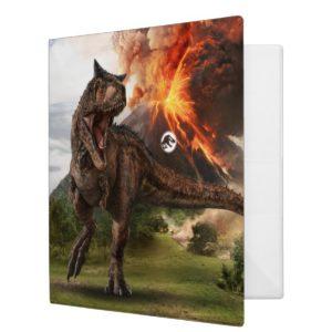 Jurassic World | Carnotaurus 3 Ring Binder