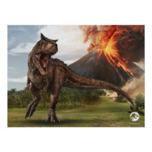 Jurassic World | Carnotaurus Poster