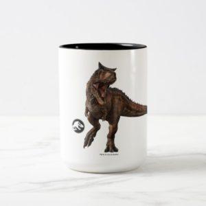 Jurassic World | Carnotaurus Two-Tone Coffee Mug