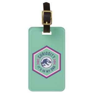 Jurassic World | Curiosity, It's in my DNA Bag Tag