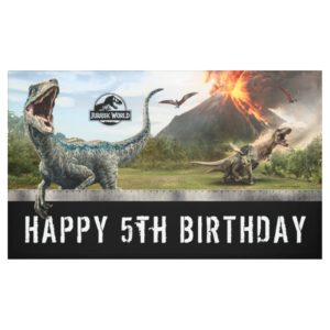 Jurassic World | Dinosaur Birthday Banner