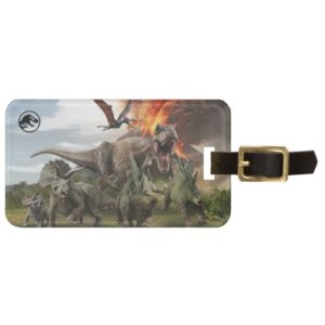 Jurassic World Dinosaur Herd Bag Tag