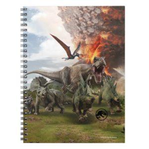Jurassic World Dinosaur Herd Notebook