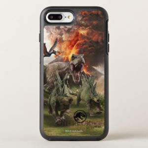 Jurassic World Dinosaur Herd OtterBox iPhone Case