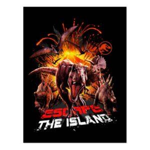 Jurassic World | Escape Postcard