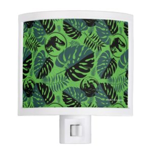 Jurassic World | Green & Black Jungle Pattern Night Light