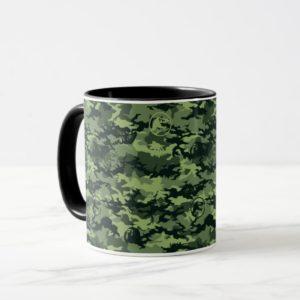 Jurassic World   Green Dinosaur Camo Pattern Mug