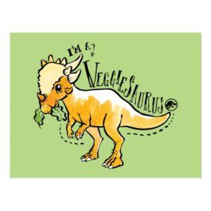 Jurassic World | I'm a Veggiesaurus Postcard