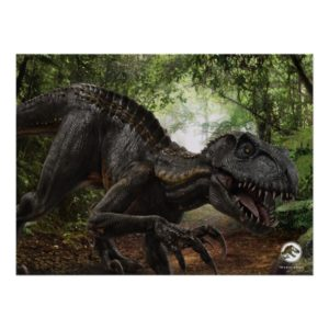 Jurassic World   Indoraptor Poster
