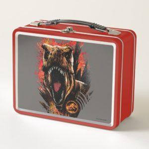 Jurassic World | Instinct to Hunt Metal Lunch Box