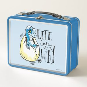 Jurassic World | Life Finds a Way Metal Lunch Box