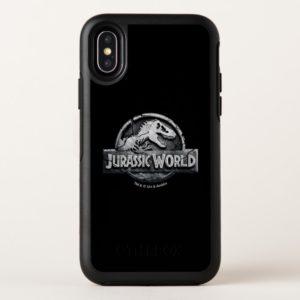 Jurassic World Logo OtterBox iPhone Case