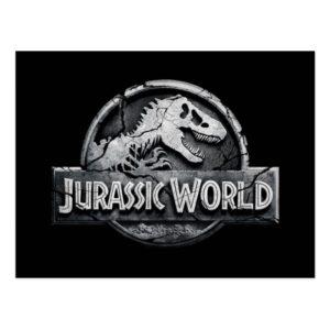 Jurassic World Logo Postcard