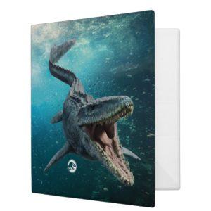 Jurassic World | Mosasaurus 3 Ring Binder