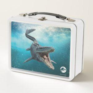 Jurassic World | Mosasaurus Metal Lunch Box